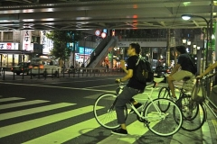 Fixies in the Night of Tokyo